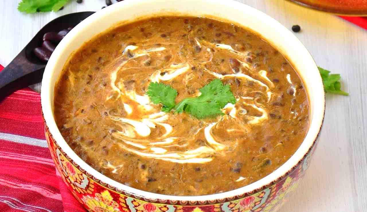 Zuppa di fagioli neri alla messicana ricettasprint