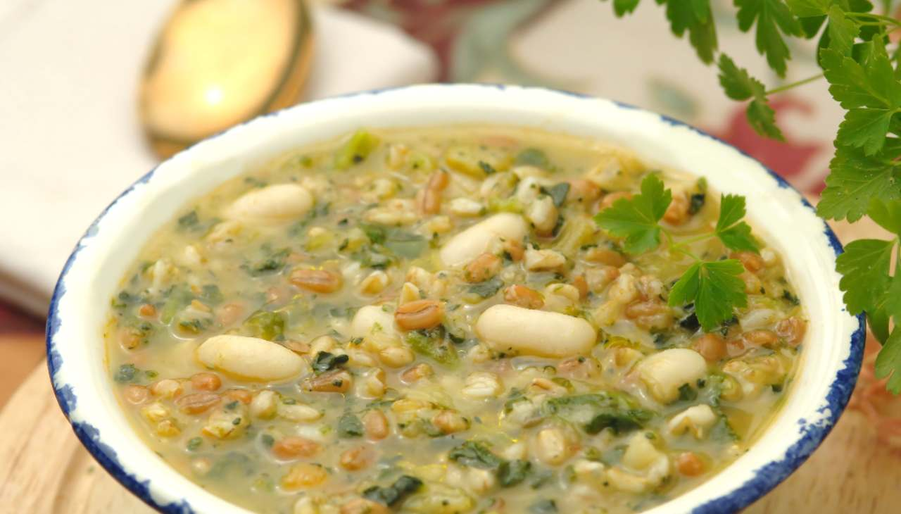 zuppa veloce legumi