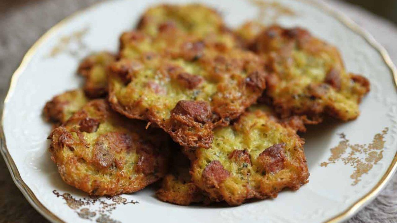 Crespelle patate salsiccia