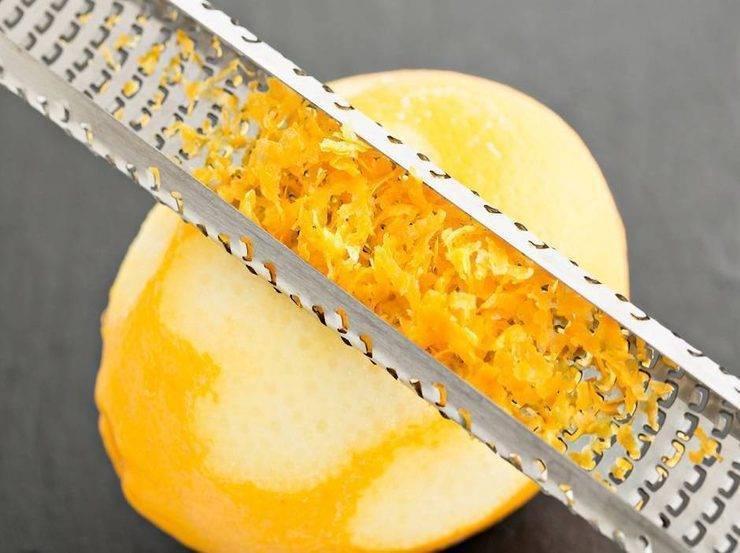 limone grattugiato
