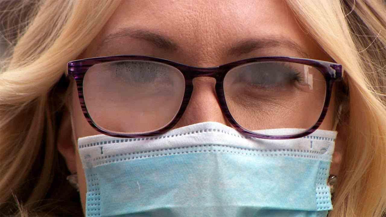 Mascherine come evitare appannamento occhiali