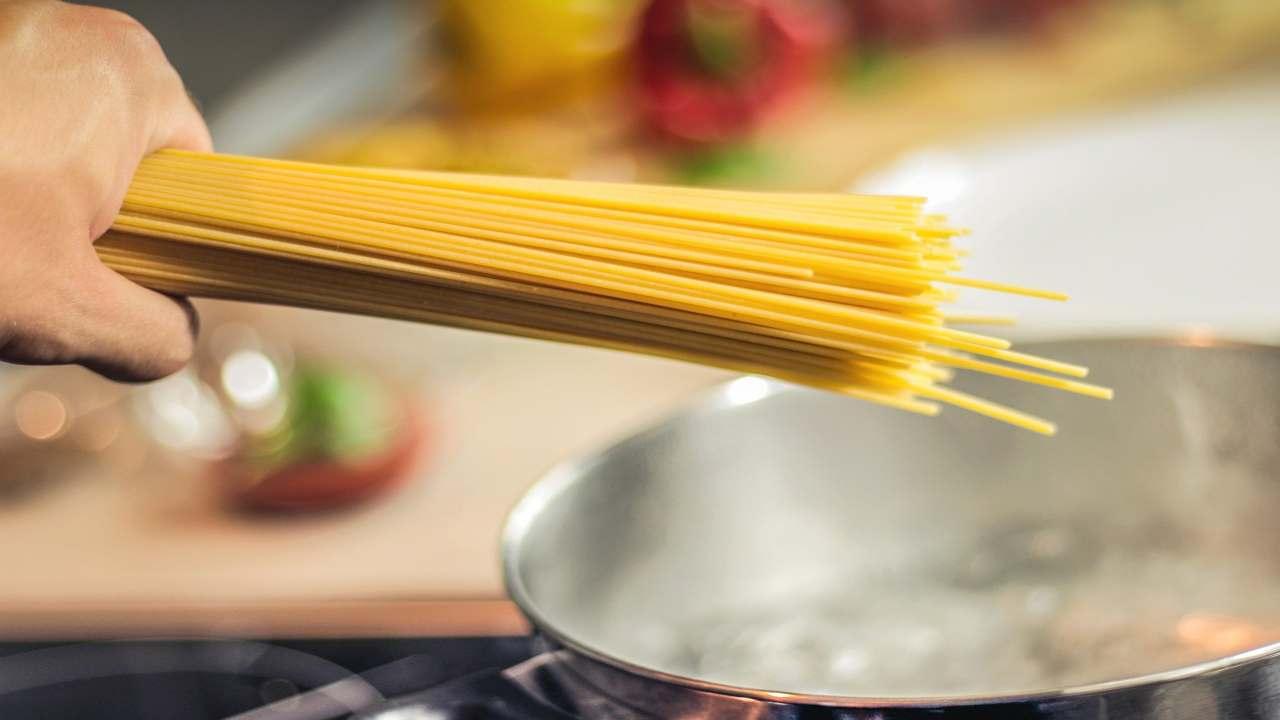 qualità del cibo spaghetti