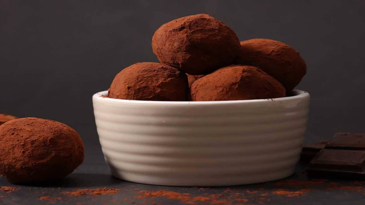 tartufi cocco cacao
