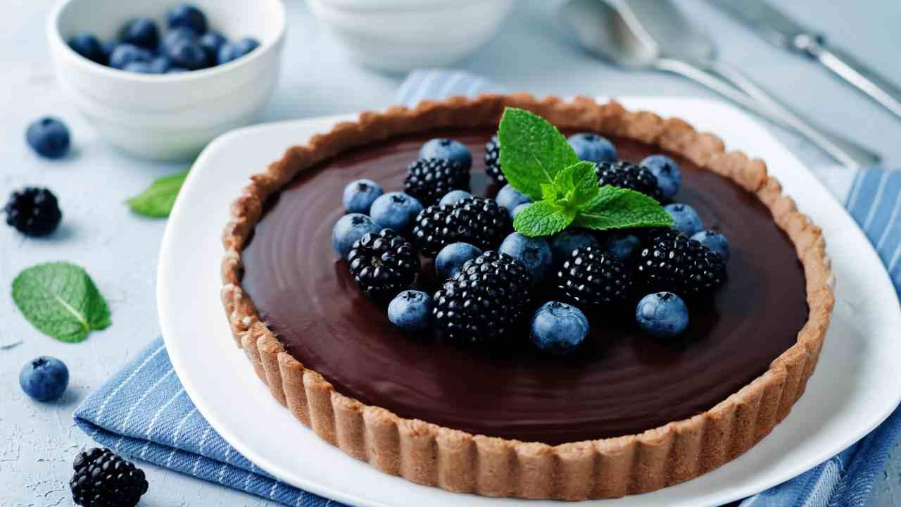 torta bonbon cioccolato crostata