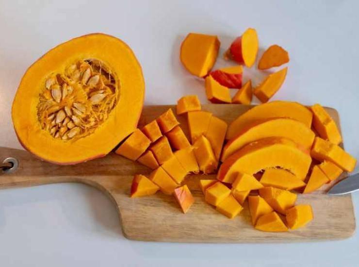 zucca torta carote
