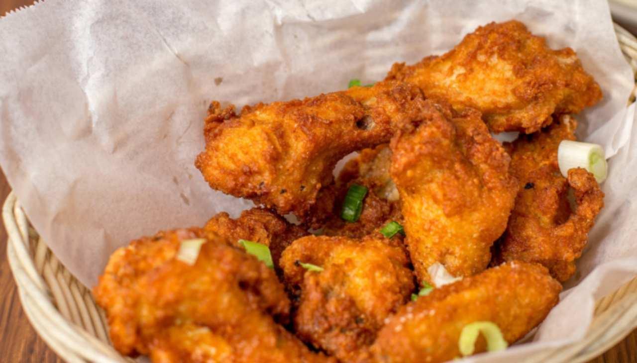 ali pollo finger food veloce
