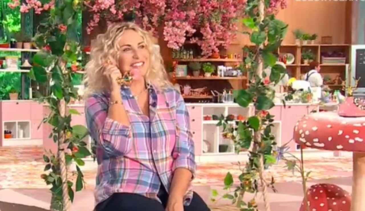 Antonella Clerici video sorpresa in studio ricettasprint