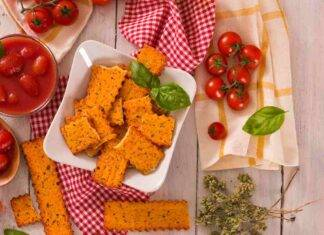 Biscotti salati pomodoro ed origano ricettasprint