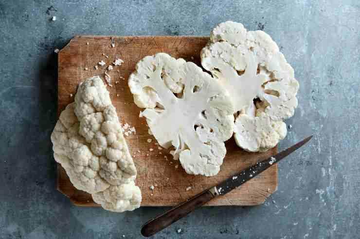 Cavolfiore piccante marinato alle erbe ricettasprint