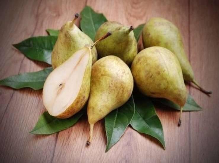 Patatine di pera