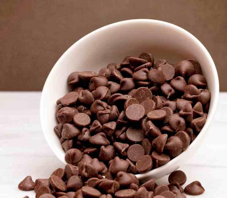 Ciambelle gocce di cioccolato FOTO ricettasprint