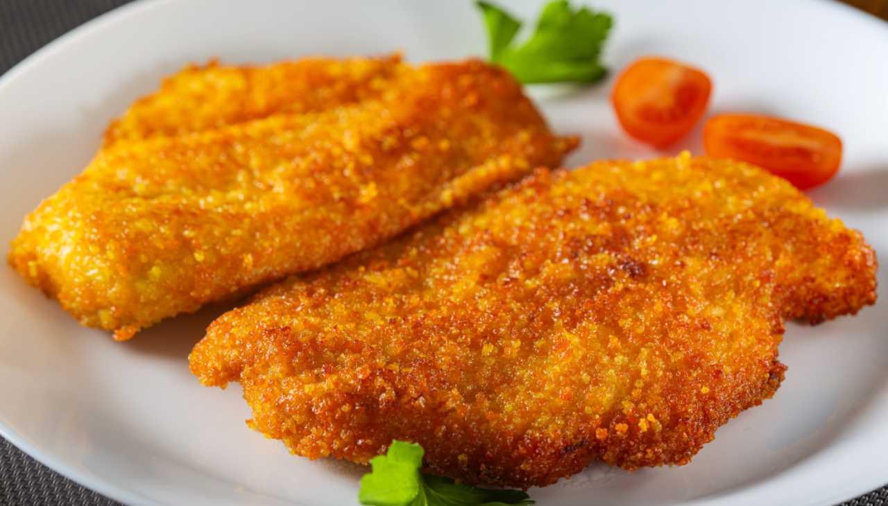 cotolette carne bianca fritta