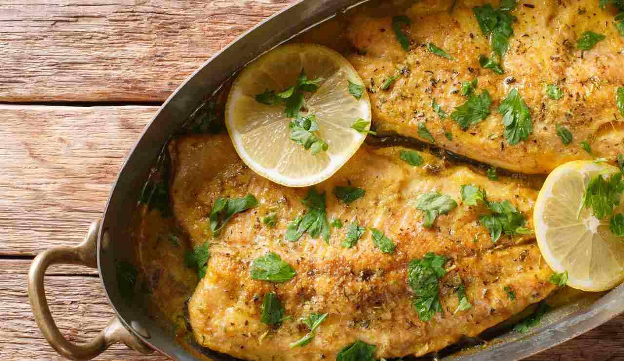 Filetti di trota al burro aglio e limone ricettasprint