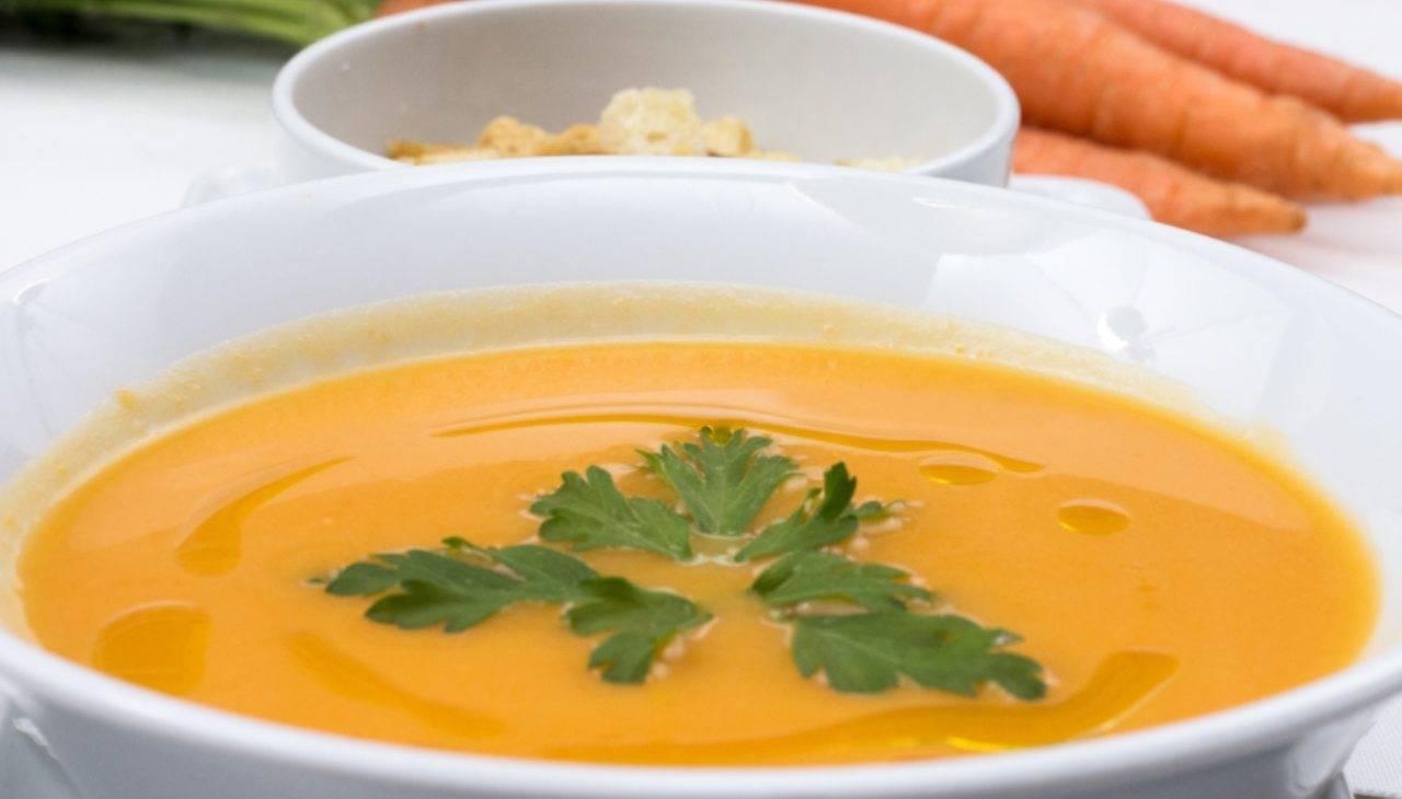 minestra tuberi arancione