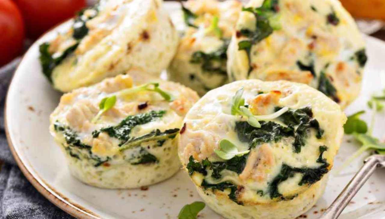 muffin ortaggi finger food