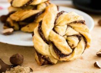 treccia con nutella FOTO ricettasprint