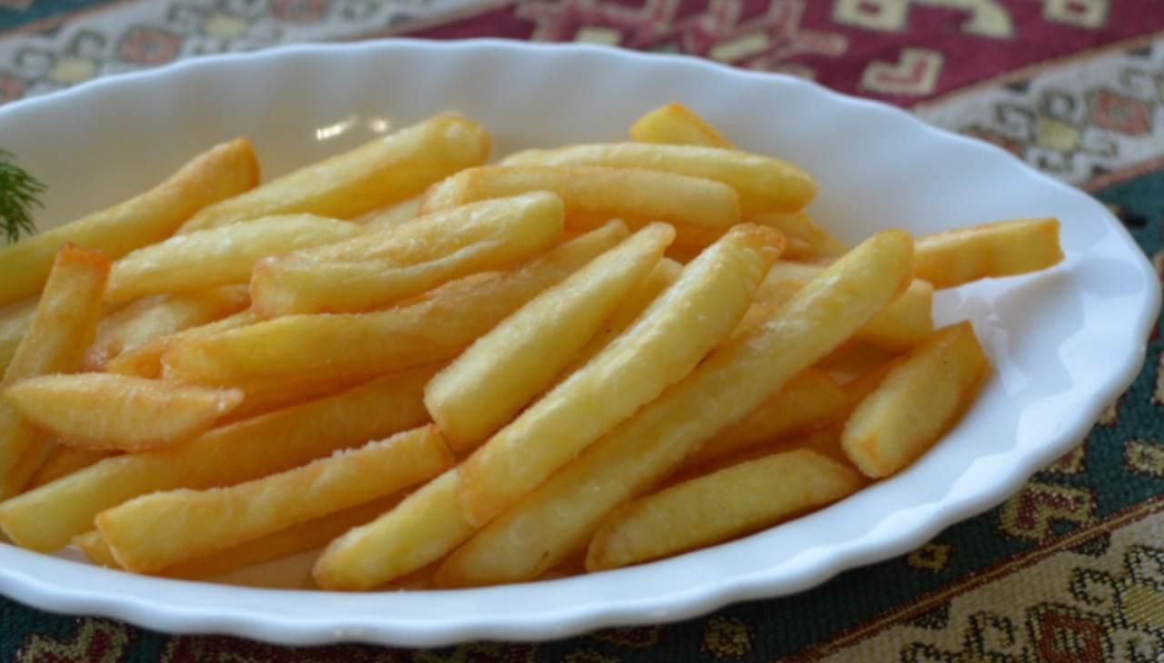 patatine finger food veloce agrumi