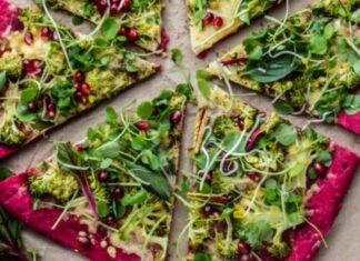 pizza impaso rosso tubero verdure