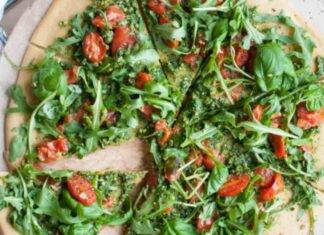 pizza vegetariana ortaggi leggera