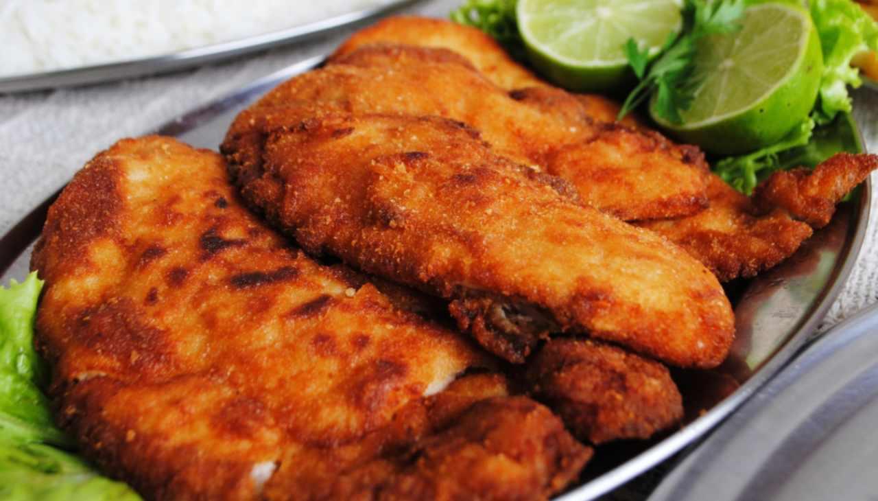 pollo carne secondo fritto agrumi