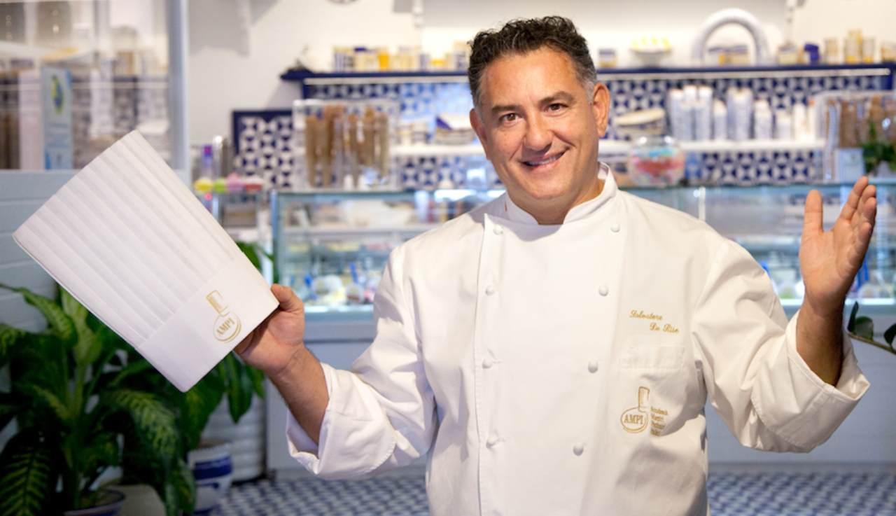 Sal De Riso mostra il suo laboratorio paradiso natalizio ricettasprint