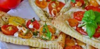 Sfoglie veloci formaggio capperi e pomodorini ricettasprint