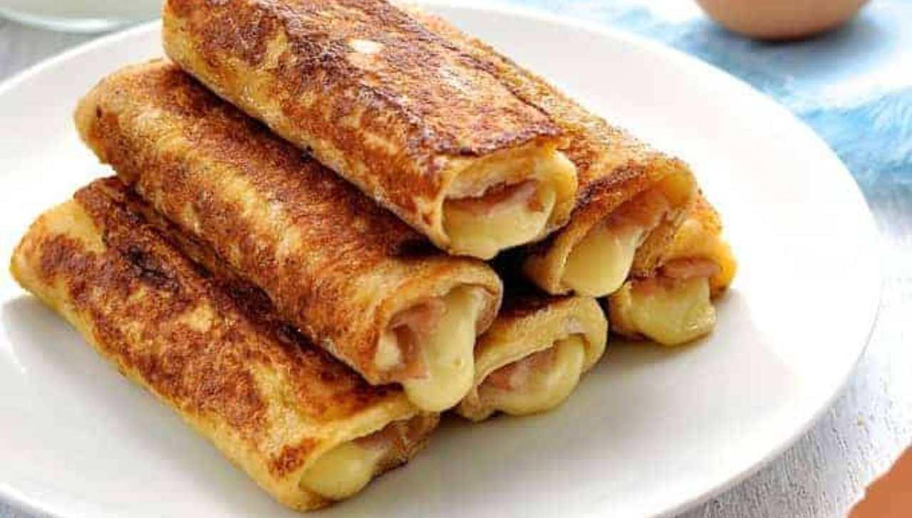 Toast arrotolato al forno ricettasprint