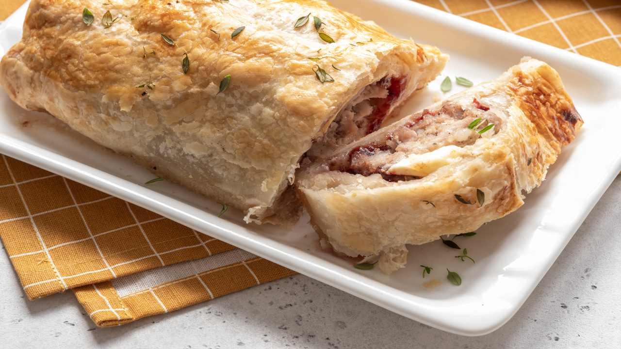 torta salata al radicchio FOTO ricettasprint
