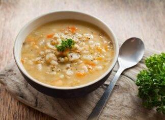 minestrone con orzo FOTO ricettasprint