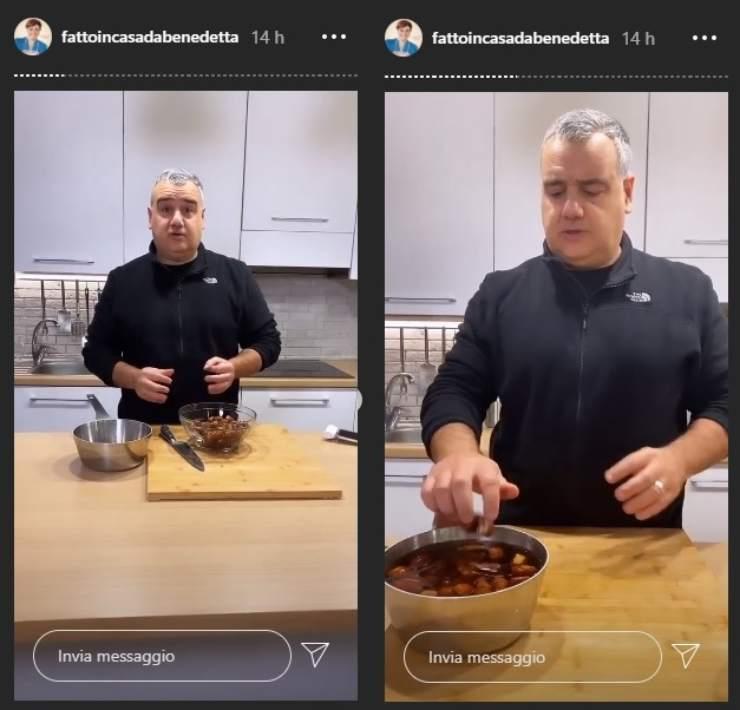 benedetta rossi superata in cucina ricettasprint