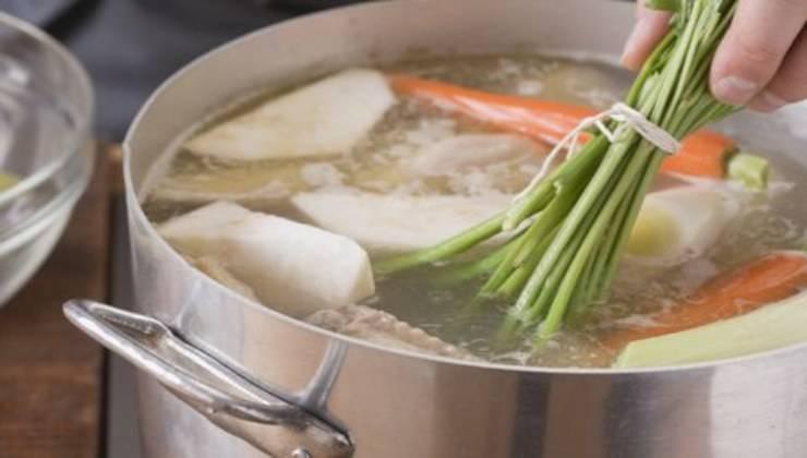 Come cucinare il brodo
