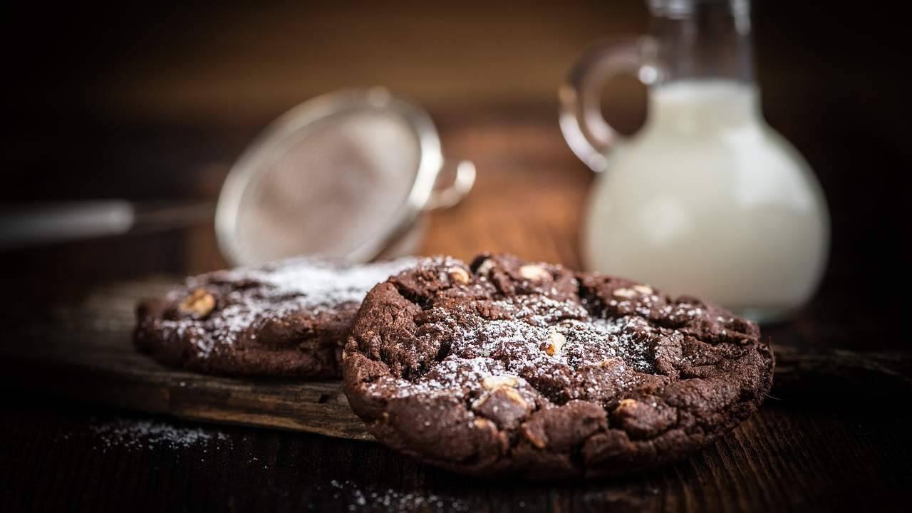 Cookies cioccolato noci