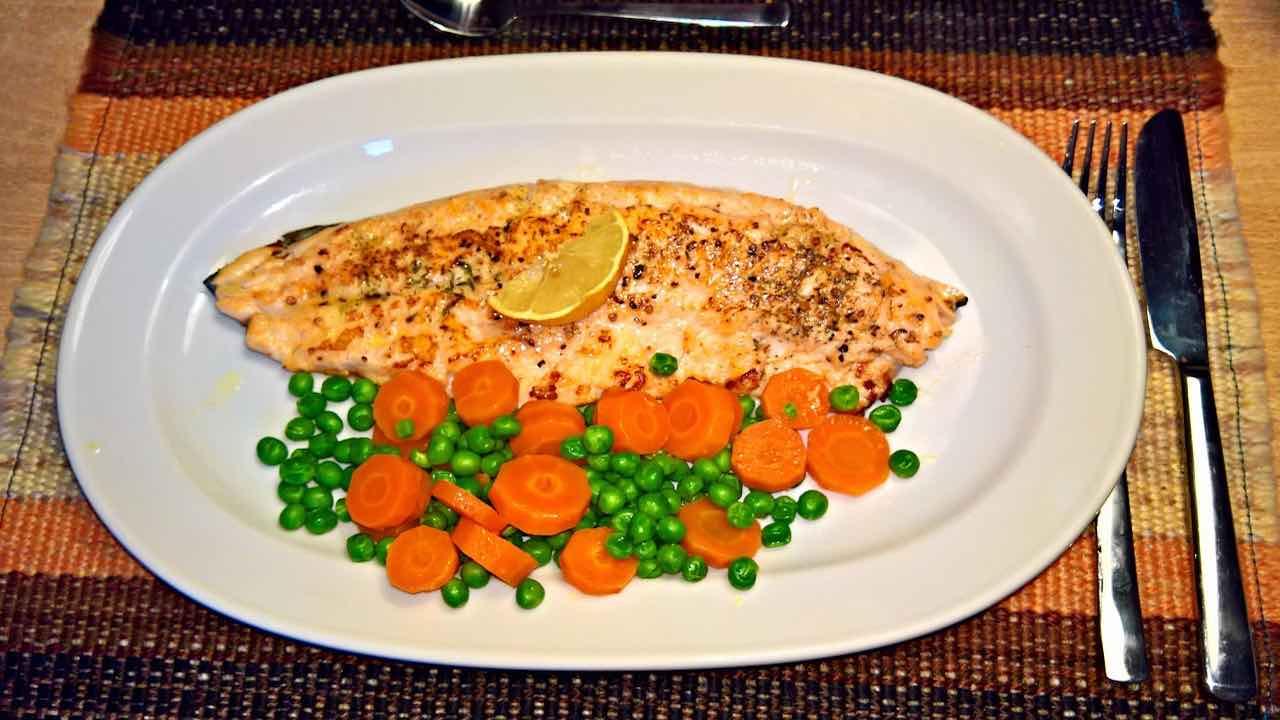 pesce e piselli