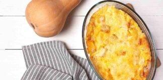 Frittata strepitosa al forno con zucca, patate e cipolla
