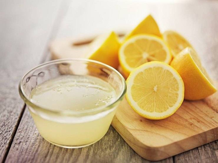 succo di limone tisana