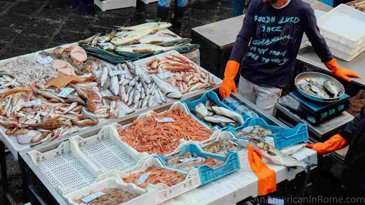 pesce contaminato
