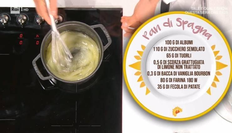 pan di spagna di luca montersino ricettasprint