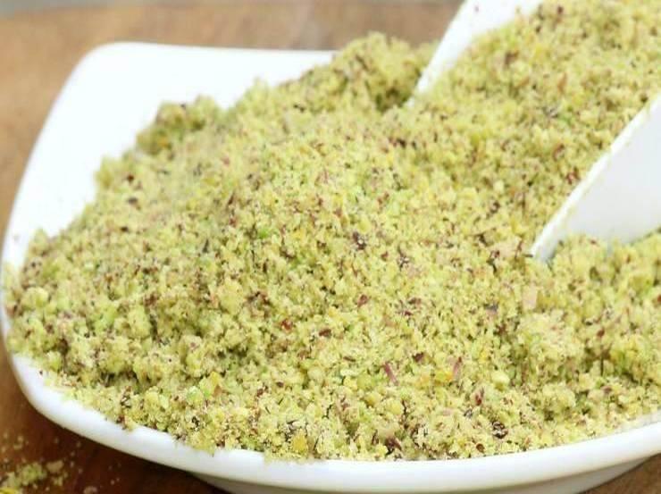 Pasta di mandorle e pistacchio