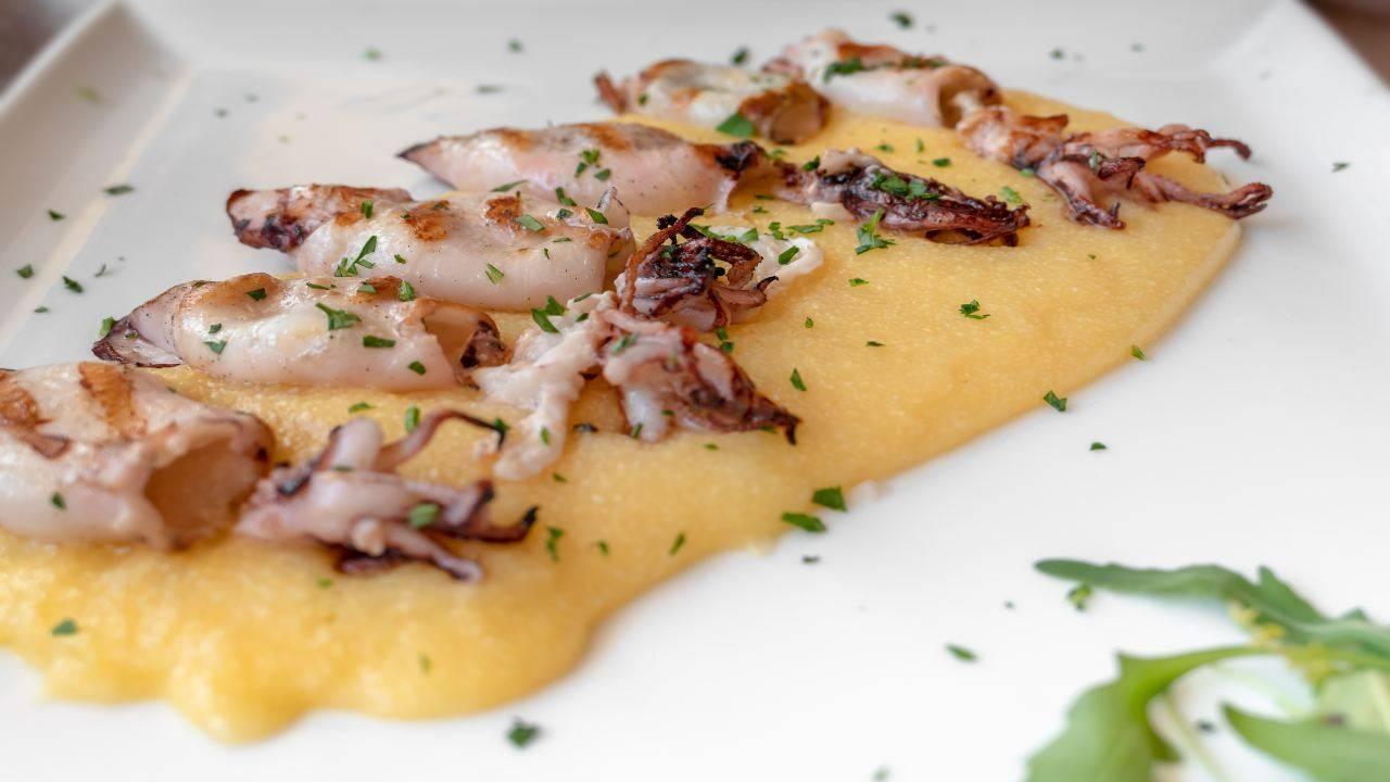 Pesce con purè di patate