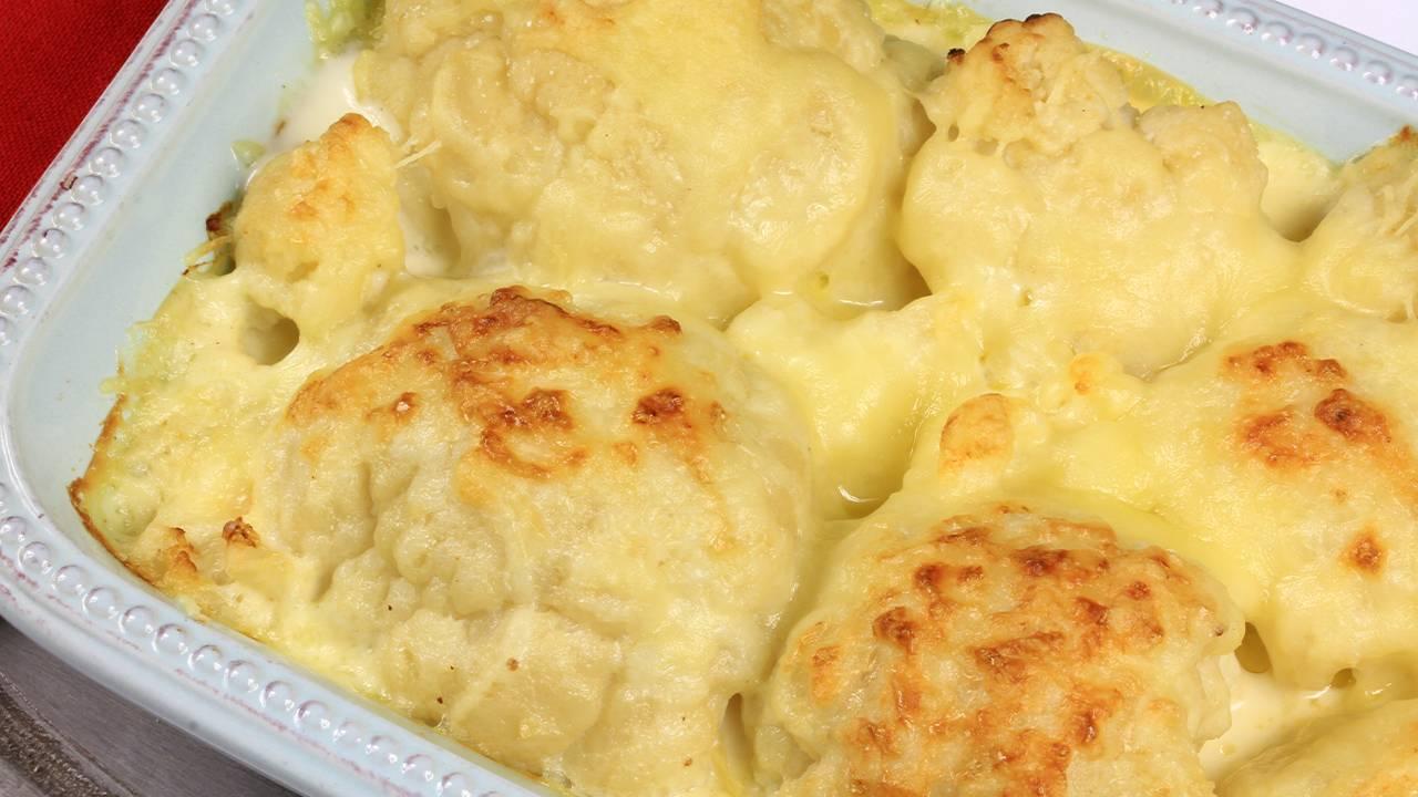 cavolo al forno con formaggio