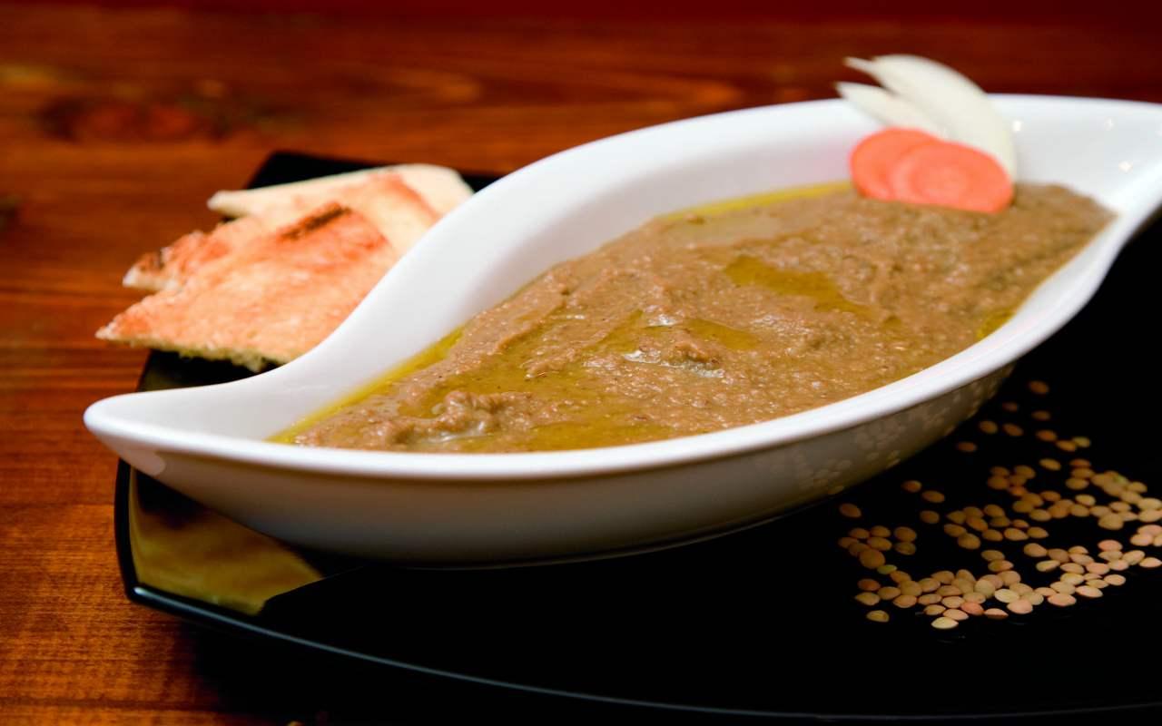 crema lenticchie ricetta FOTO ricettasprint