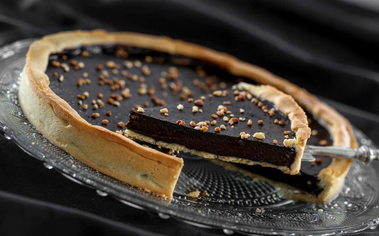 crostata natale cioccolato ricetta FOTO ricettasprint