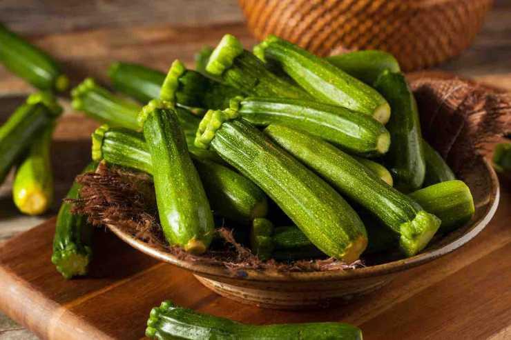 Focaccia sottile di zucchine FOTO ricettasprint