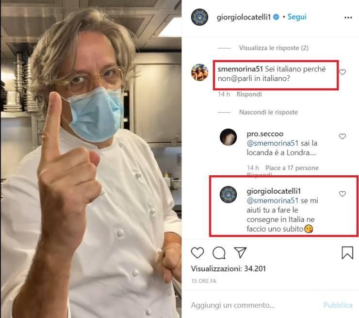 Giorgio Locatelli la cena take away - RicettaSprint