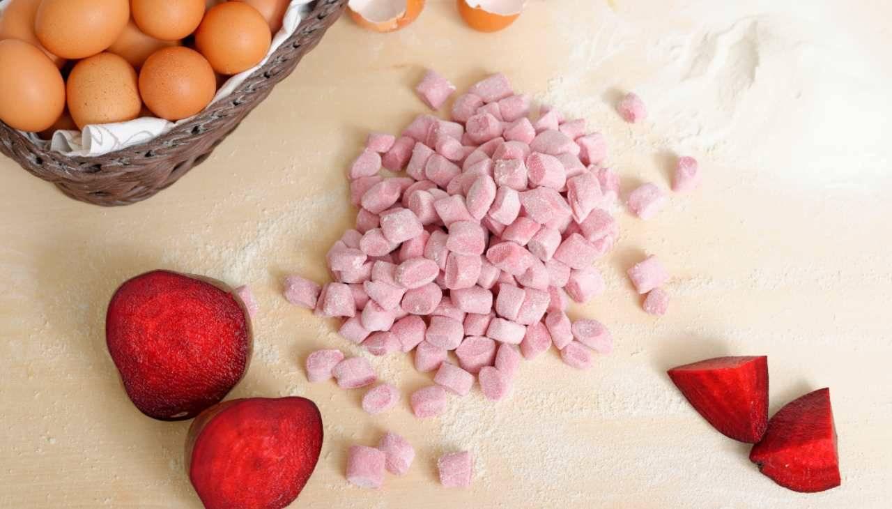 gnocchi tuberi rosa