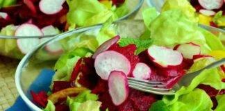 insalarona insalata barbabietola ravanello