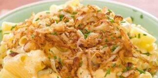 Maccheroni cipolle gratinate e besciamella ricettasprint
