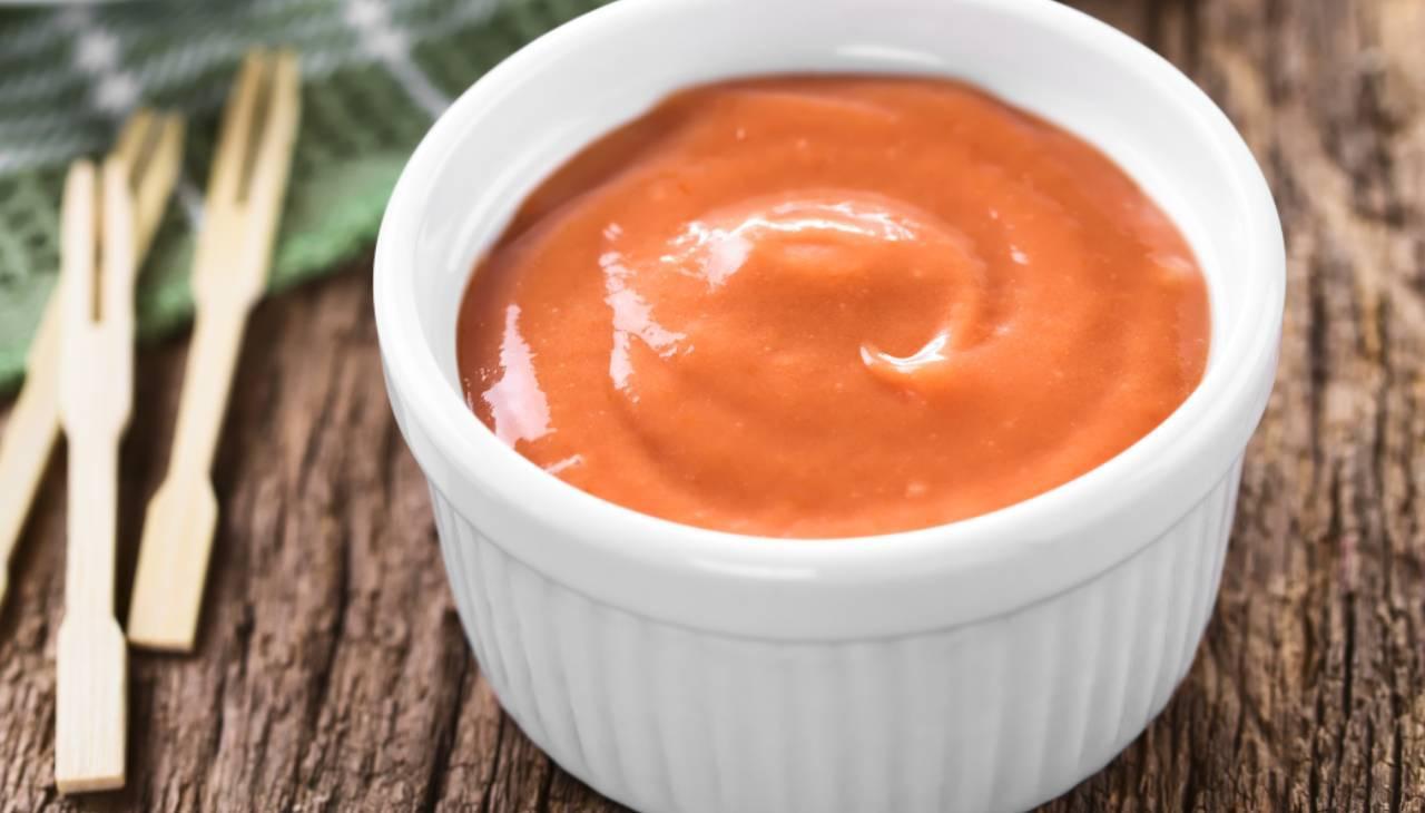 Maionese al pomodoro concentrato vegan ricetta
