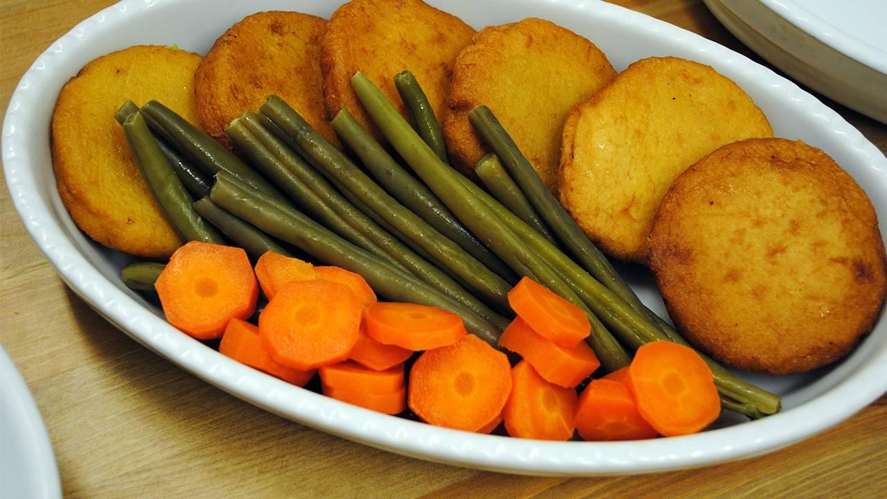 Salmone impanato e fritto