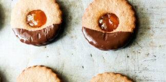 biscotti con frolla e marmellata